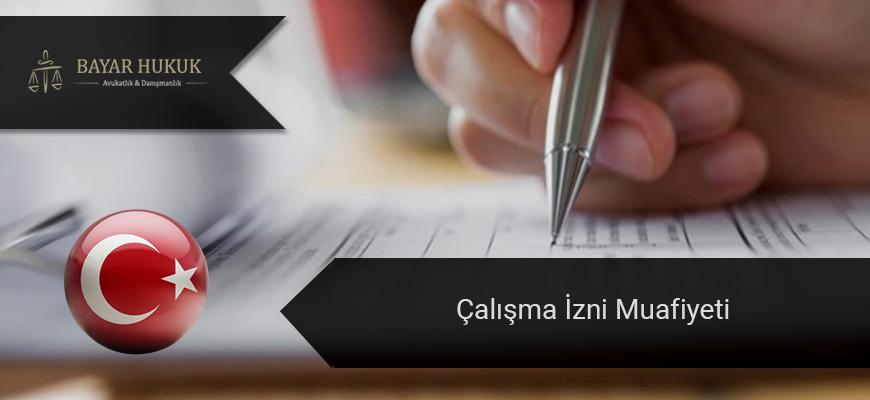 calisma-izni-muafiyeti